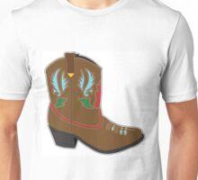 Cowboy Boots Short Unisex T-Shirt