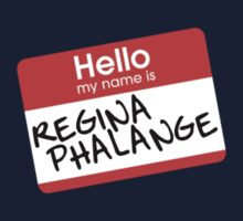 Hello My Name Is... Regina Phalange | Friends by ImEmmaR