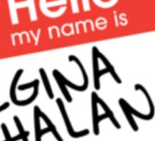 Hello My Name Is... Regina Phalange | Friends Sticker