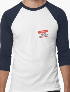 Hello My Name Is... Julius Pepperwood | New Girl Men's Baseball ¾ T-Shirt