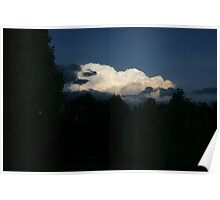 CLOUDS AT SUNDOWN Poster