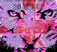 """""""Tiger Advice"""" by ShaneThompson"""