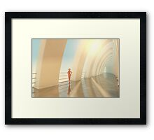 Tranquility - A Place in The Sky Framed Print