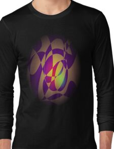 Yellow Flame Long Sleeve T-Shirt