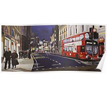 London Nightlife Poster