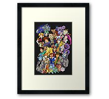 Colour Trainer Mania Framed Print