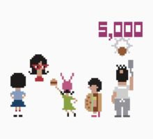 Bob's Burgers 8bit - All Bottom by Hrern1313