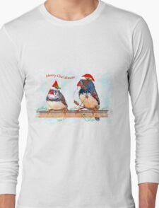Festive Finches Long Sleeve T-Shirt