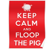Floop the Pig Poster