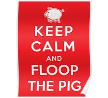 Floop the Pig Poster