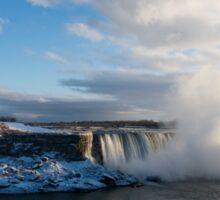 Niagara Falls - Horseshoe Winter Panorama Sticker
