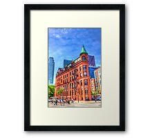Walking to the Flatiron Building Framed Print