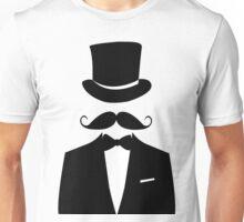 Distinguished Gentleman Moustache T-shirt Unisex T-Shirt