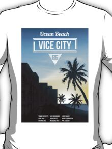 Vice City - Ocean Beach  T-Shirt