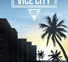 Vice City - Ocean Beach  by davepatey1
