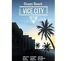 Vice City - Ocean Beach  Photographic Print