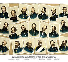 Union Commanders of The Civil War by warishellstore