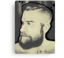 Vintage Beard Canvas Print