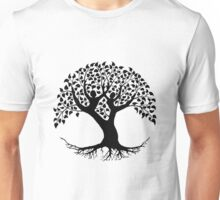 Lovers Tree of Life silhouette Unisex T-Shirt