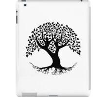 Lovers Tree of Life silhouette iPad Case/Skin