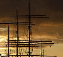 Masts and Rigging, Glasgow by ElsT