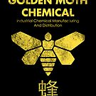 Golden Moth Chemical by drsimonbutler
