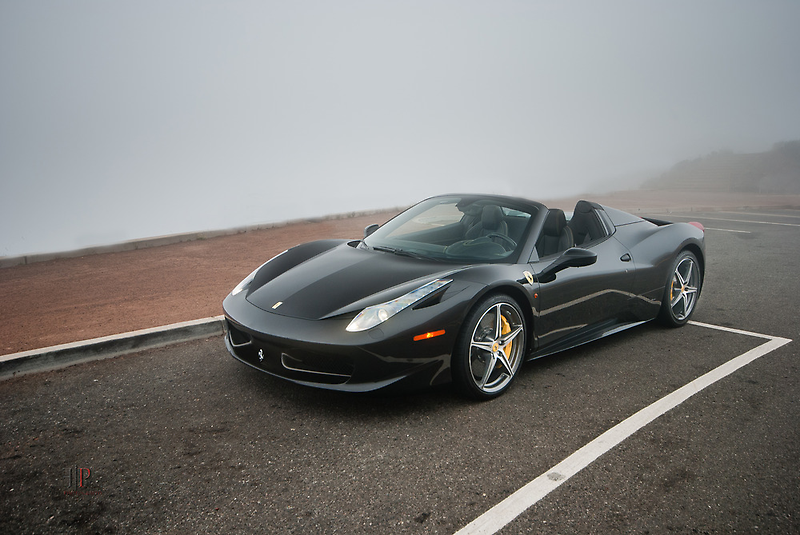 Ferrari 458 Spider | Foggy by Gil Folk
