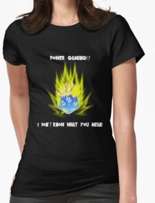 Super Sayian Dice Womens Fitted T-Shirt