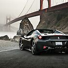 Ferrari 458 Spider | Golden Gate by Gil Folk