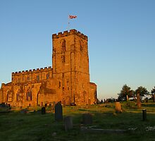Breedon on the Hill Church by Jonathan Cox