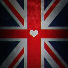 UK Flag by nickart