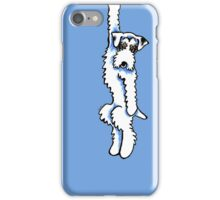 Clingy Sealyham Terrier iPhone Case/Skin
