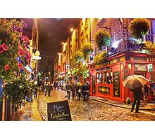 Downtown Dublin Photographic Print