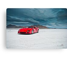 Ferrari F40 | Incoming Storm Canvas Print