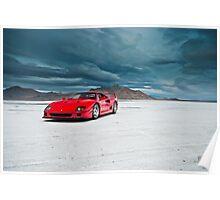 Ferrari F40 | Incoming Storm Poster