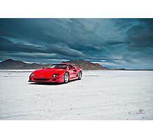 Ferrari F40 | Incoming Storm Photographic Print