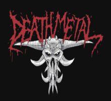 Death Metal Demonic-Skull by Luke Kegley