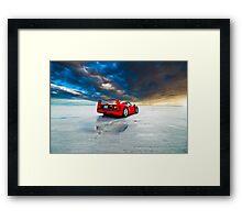 Ferrari F40 | Sunrise Framed Print