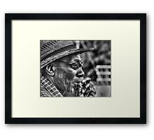 Smoker Framed Print