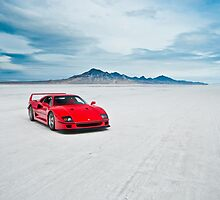 Ferrari F40 | Isolation by Gil Folk