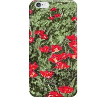 Tulip pattern/drawing iPhone Case/Skin