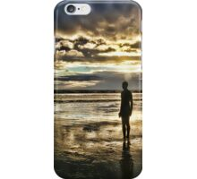 Crosby Beach - Another Place iPhone Case/Skin