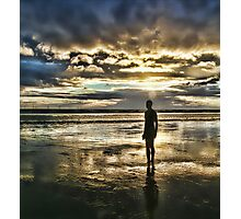 Crosby Beach - Another Place Photographic Print