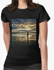 Crosby Beach - Another Place Womens Fitted T-Shirt