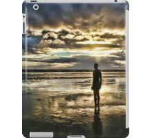 Crosby Beach - Another Place iPad Case/Skin