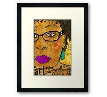 InSIGHTful Framed Print