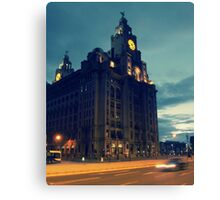Liver Building, Liverpool Canvas Print