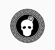 Greek Keys White Cranium Design T-Shirt