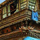 Kathmandu Market Building by V1mage