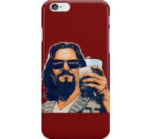 The Dude and the White Russian iPhone Case/Skin